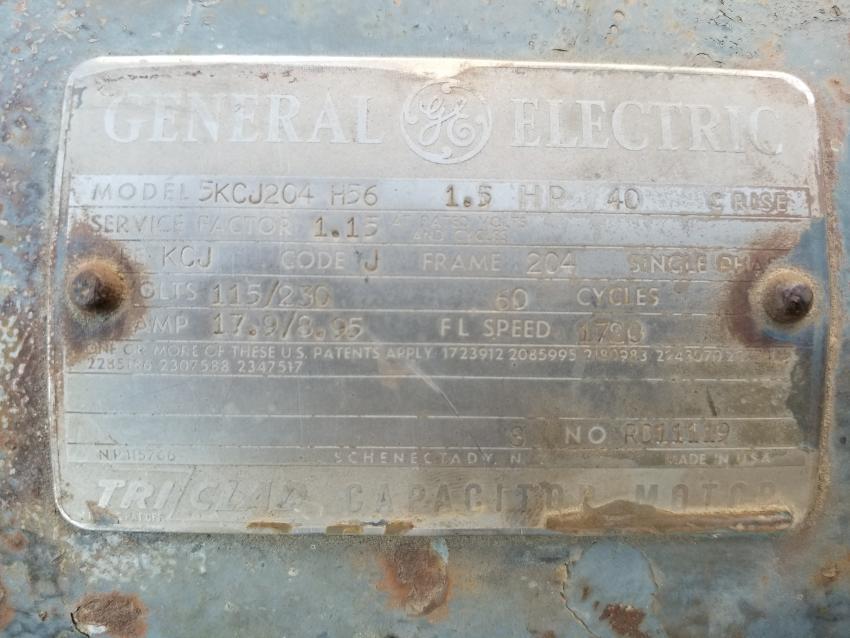 Motor Wiring Have Diagram No Labels On, Ge Electric Motor Wiring Diagram