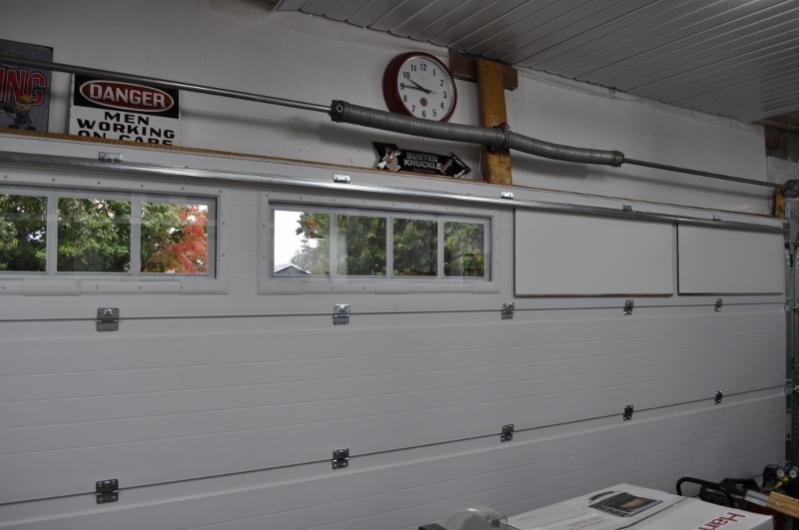 Garage Door Window Privacy Ideas The