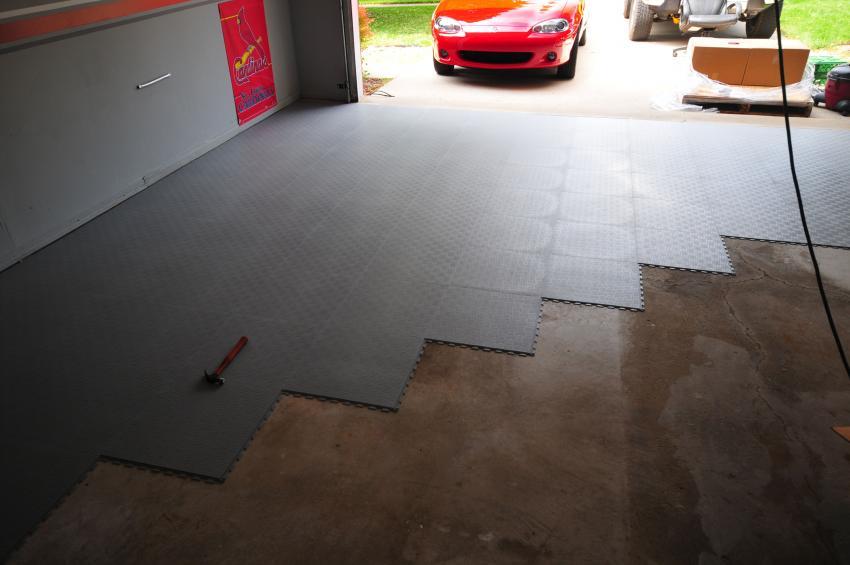 Tuffseal Tile The Garage Journal, Tuff Seal Garage Floor Tiles