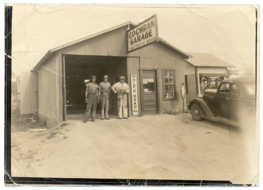 The Cochran Garage circa 1944