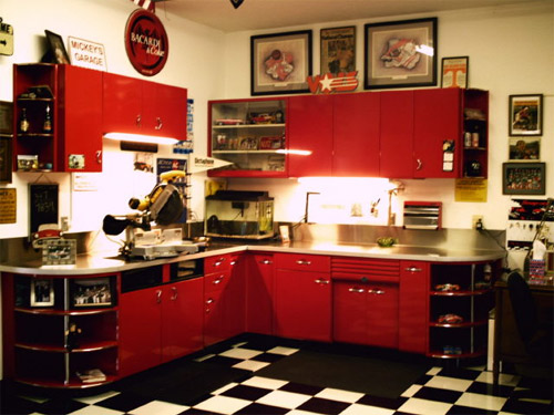 The Garage Journal Blog Archive Vintage Kitchen Cabinets