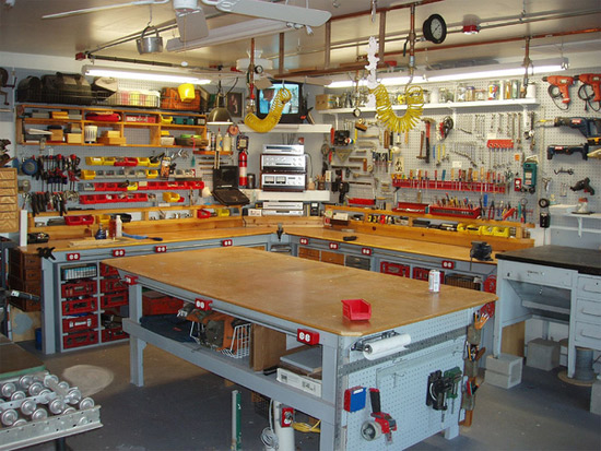 Workbenches Galore - The Garage Journal Board