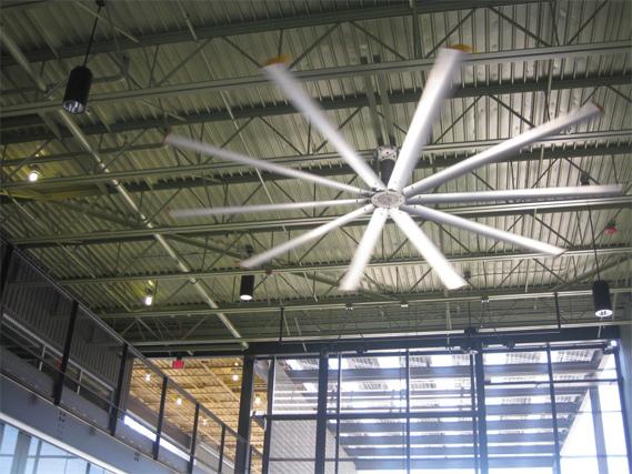 Big ass ceiling fans