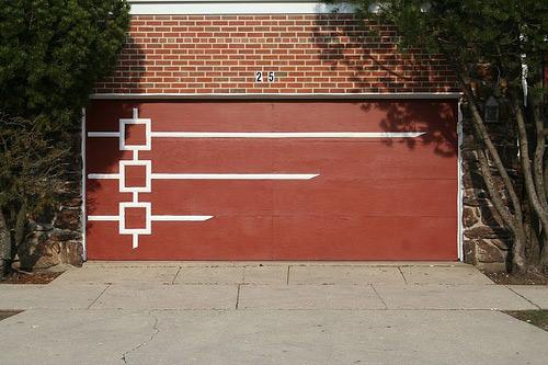 Mid Century Modern Garage Doors the garage journal » blog archive » the mid century door