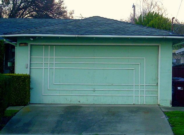 The Garage Journal Blog Archive The Mid Century Door