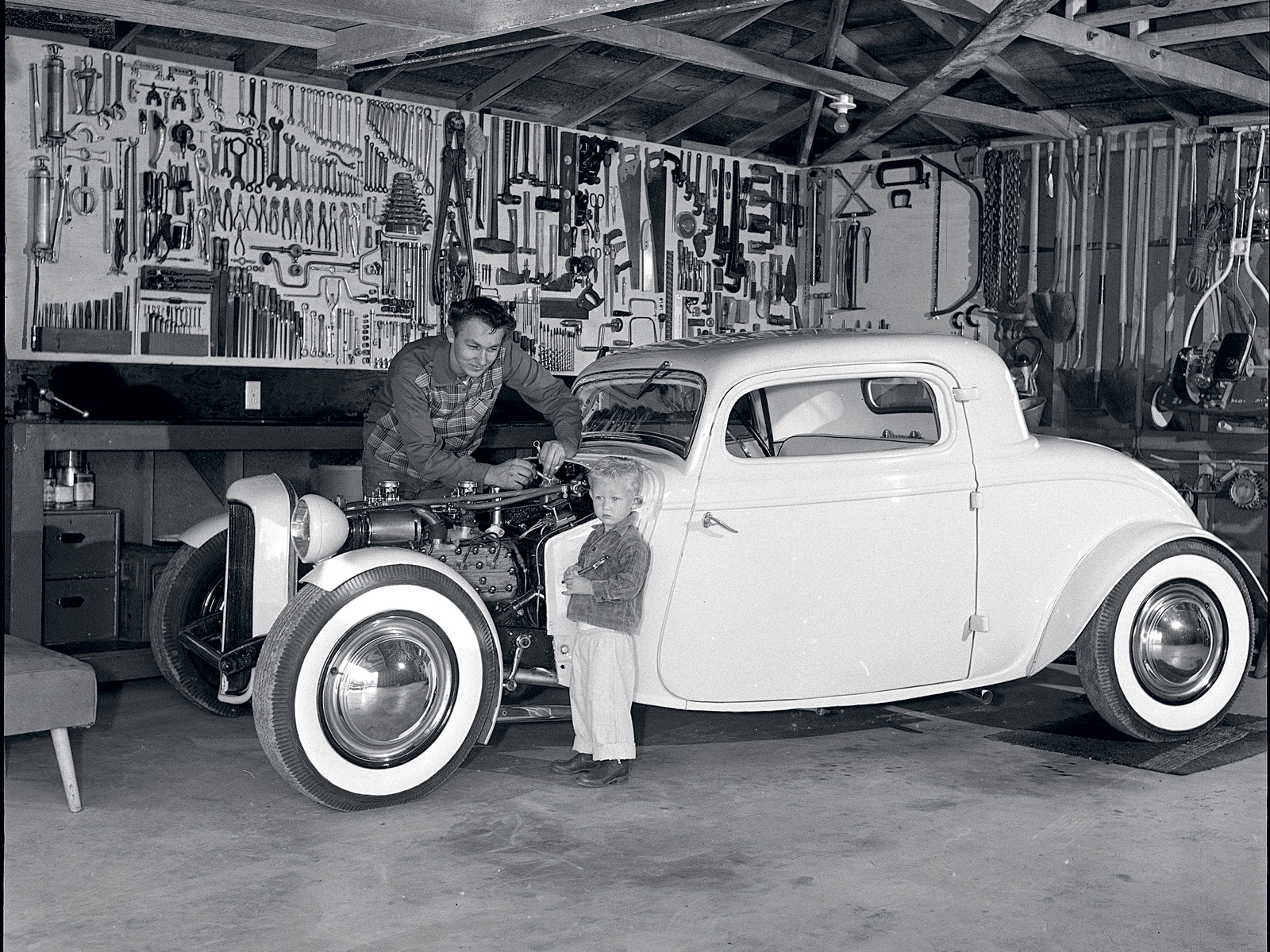The Garage Journal » Blog Archive » Hot Rod Garage Scenes