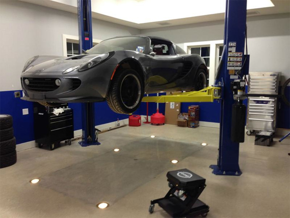 Man Cave Garage Journal : The garage journal » blog archive lift lights